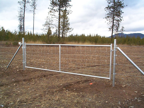 Deer Fence Gates