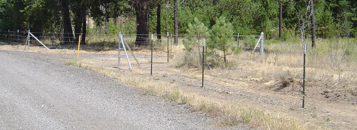 Are you allowed to go through barb wire fencing to prospect an area?