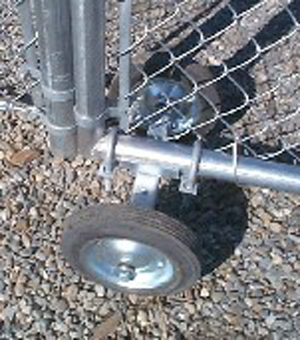 Commercial And Industrial Chain Link Fence