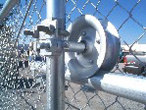 Rolling Gate Chain Link Fence http://www.valleyfence.net/commercial_chain_link_fence.html