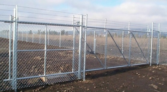 Galvanized Chain-Link at Menards