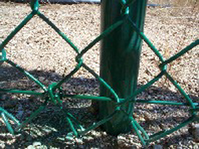 Colored Chain Link Fence